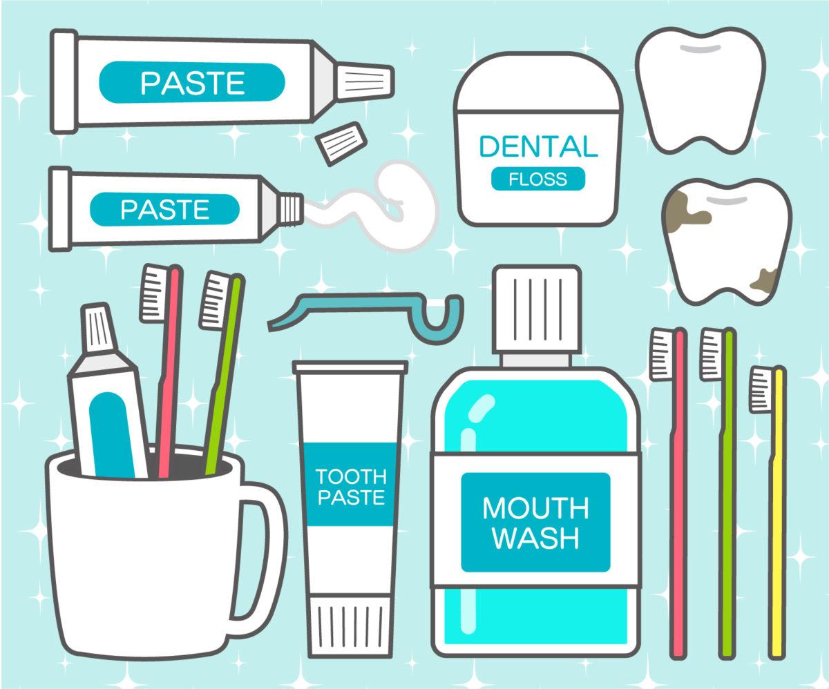 歯磨き粉イラスト