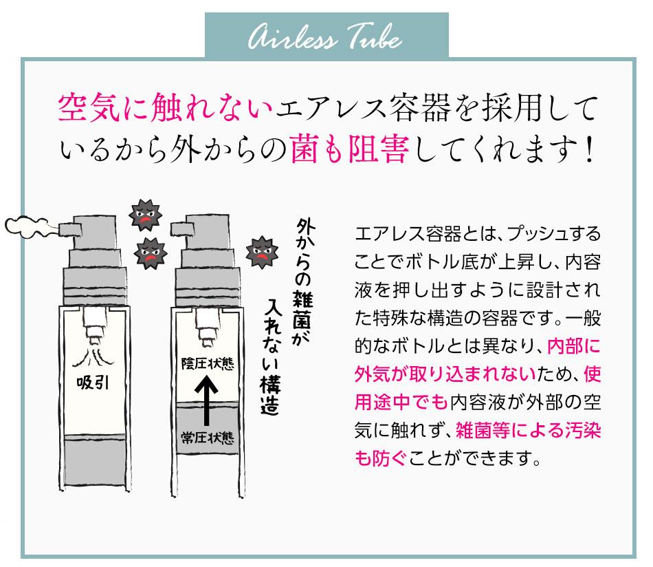 エアレス容器
